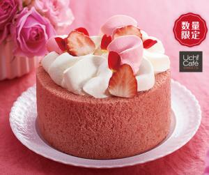 バラ香るロールケーキ4号