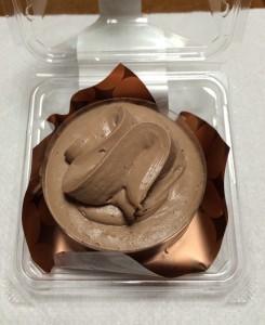 チョコレートケーキ2層仕立て