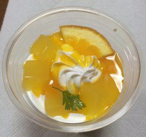 オレンジ&ヨーグルトパフェ