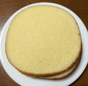 ピーチサンドケーキ