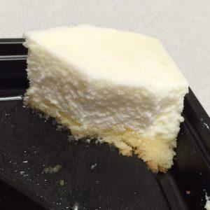 レアチーズケーキ断面