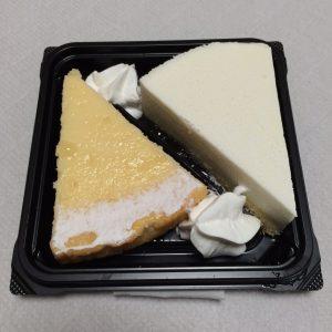 2種類のチーズケーキ~NYチーズ&レアチーズ~