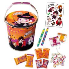 ハロウィンパーティバケツ缶