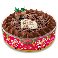クリスマスチョコ生ケーキ