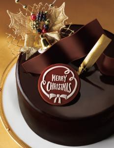 ショコラティエのつくるスペシャルチョコレートケーキ4号