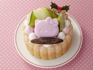 ハローキティのクリスマスケーキ