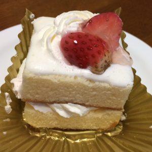 苺ショートケーキ側面