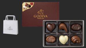 ゴディバ チョコレート コレクション 6粒入
