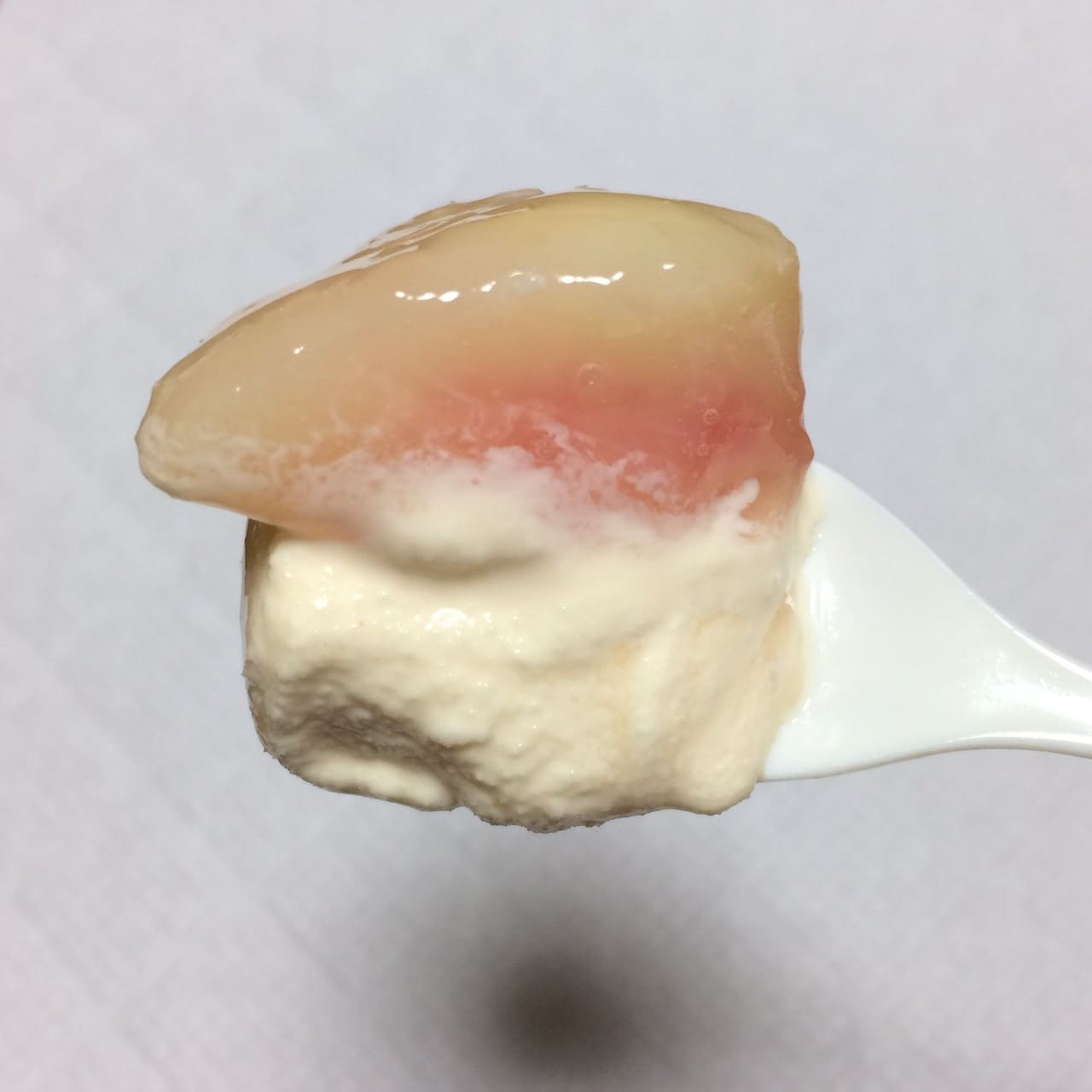 桃果肉とバニラ