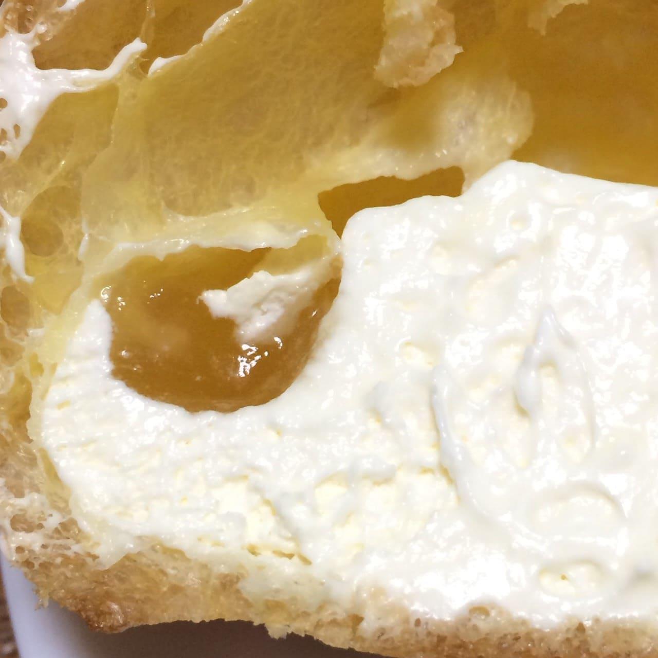 瀬戸内レモンのシュークリームレモンソース