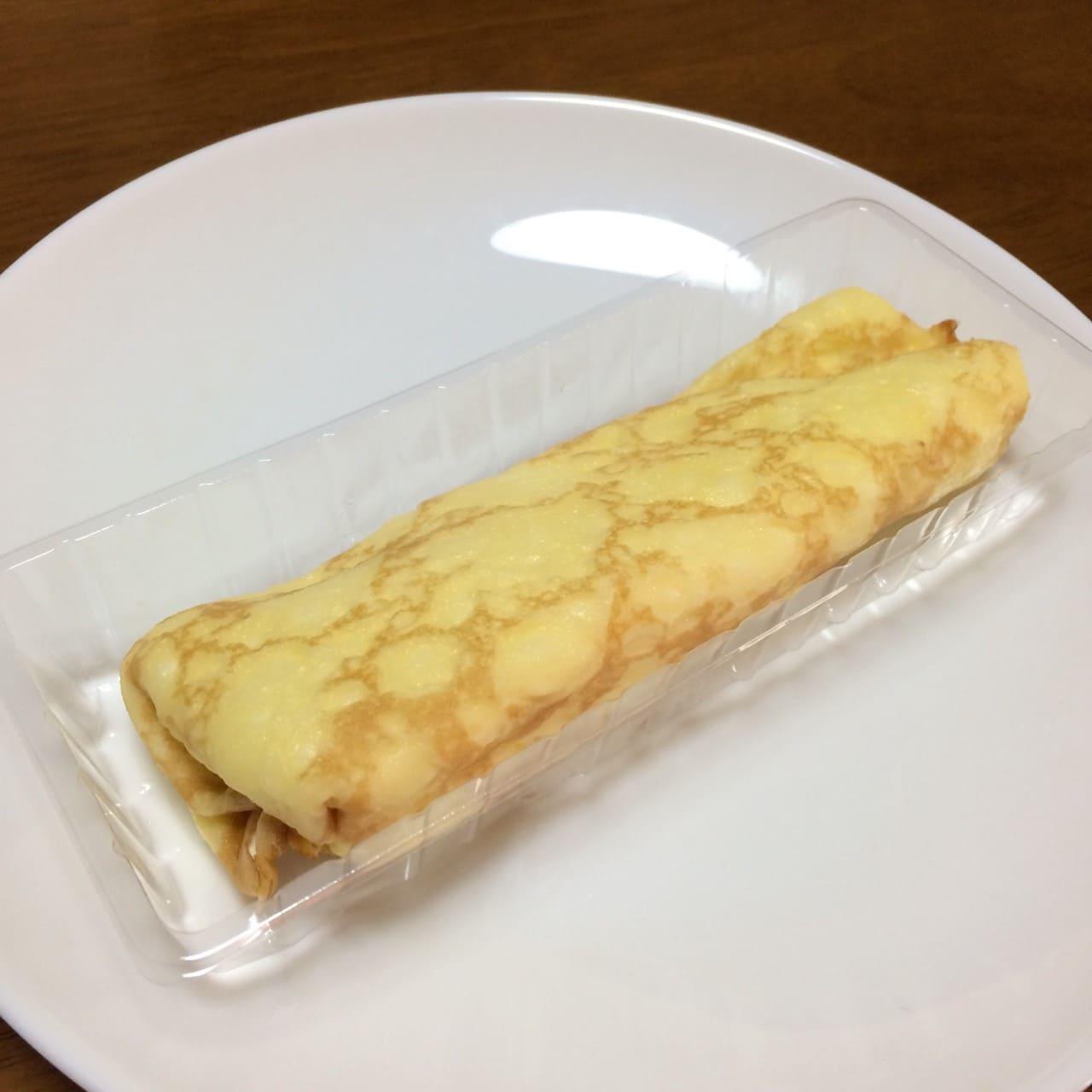 クレープ包み マロンクリーム&チョコクッキー