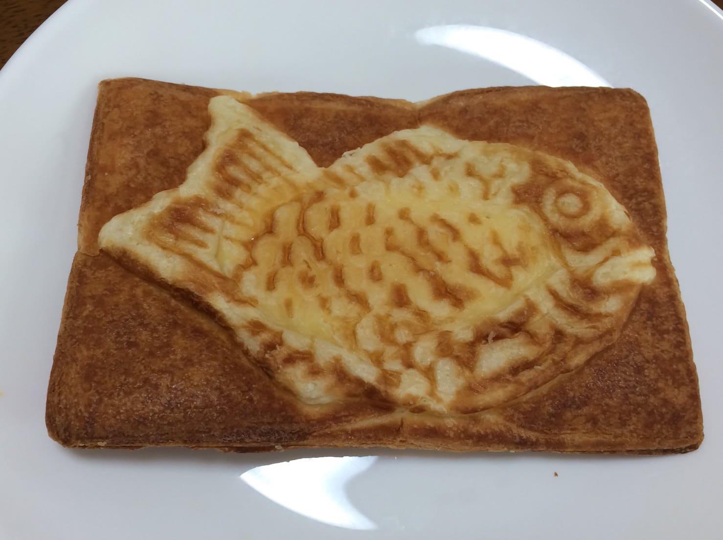 クロワッサン 鯛焼き 裏