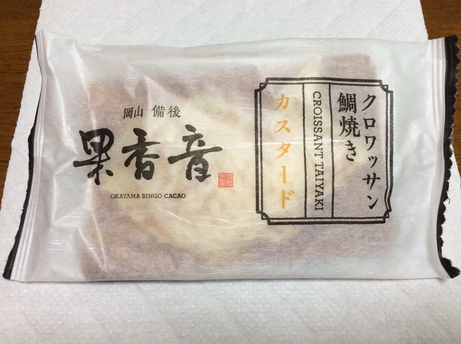 クロワッサン 鯛焼き 果香音
