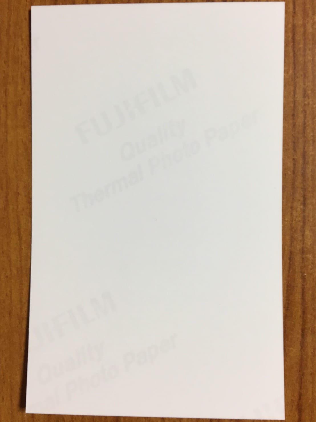 セブンイレブンで印刷した名刺裏面