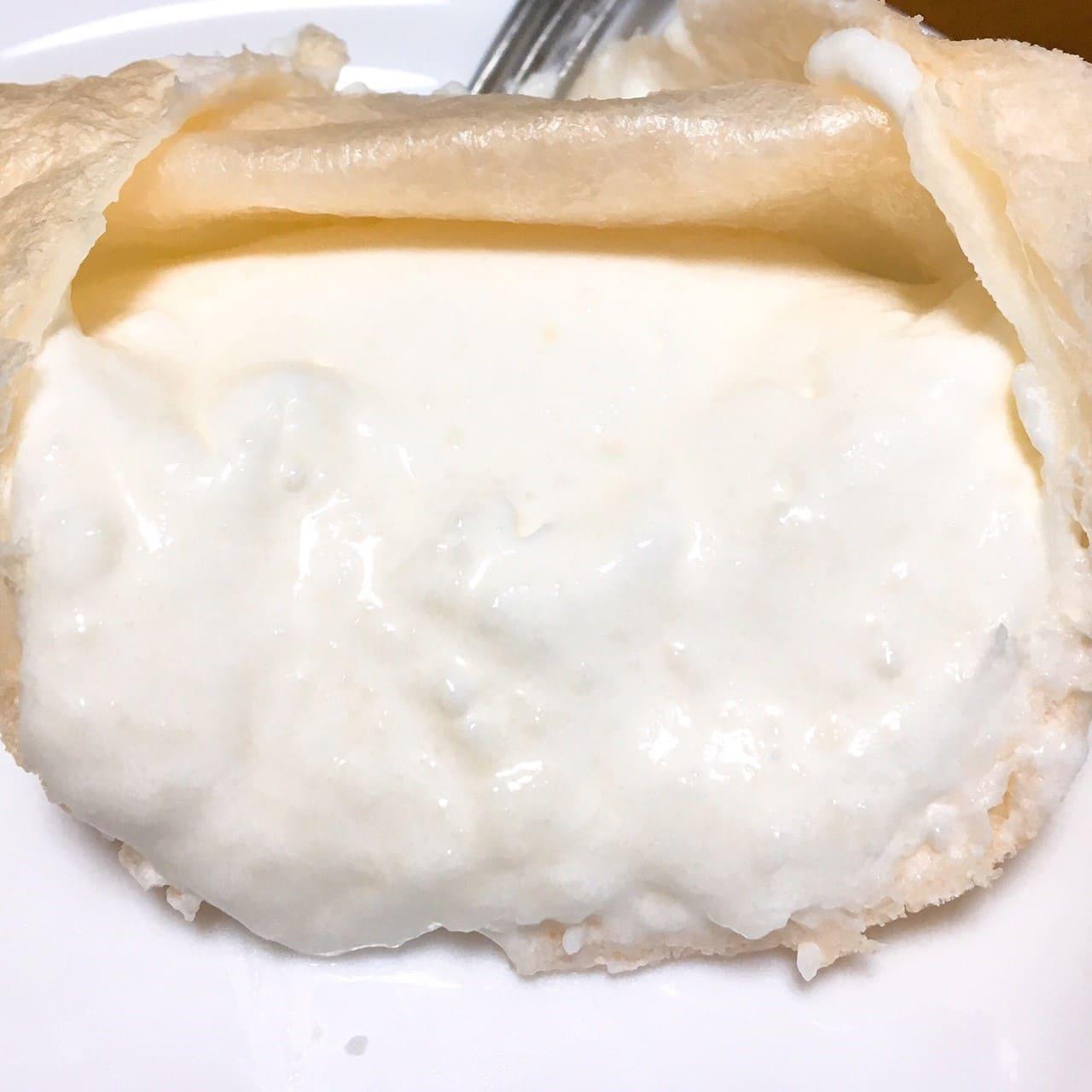 ミルクムースの雪もこクリーム