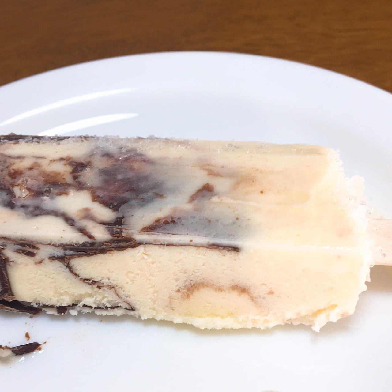 チョコバッキー バニラ側面