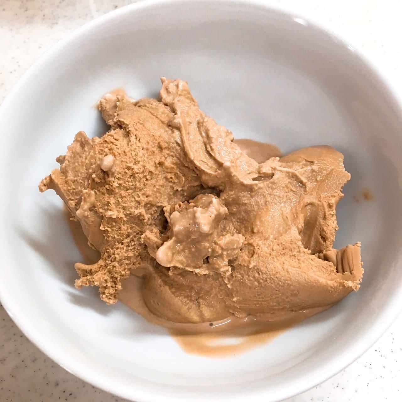 手作りチョコレートアイス