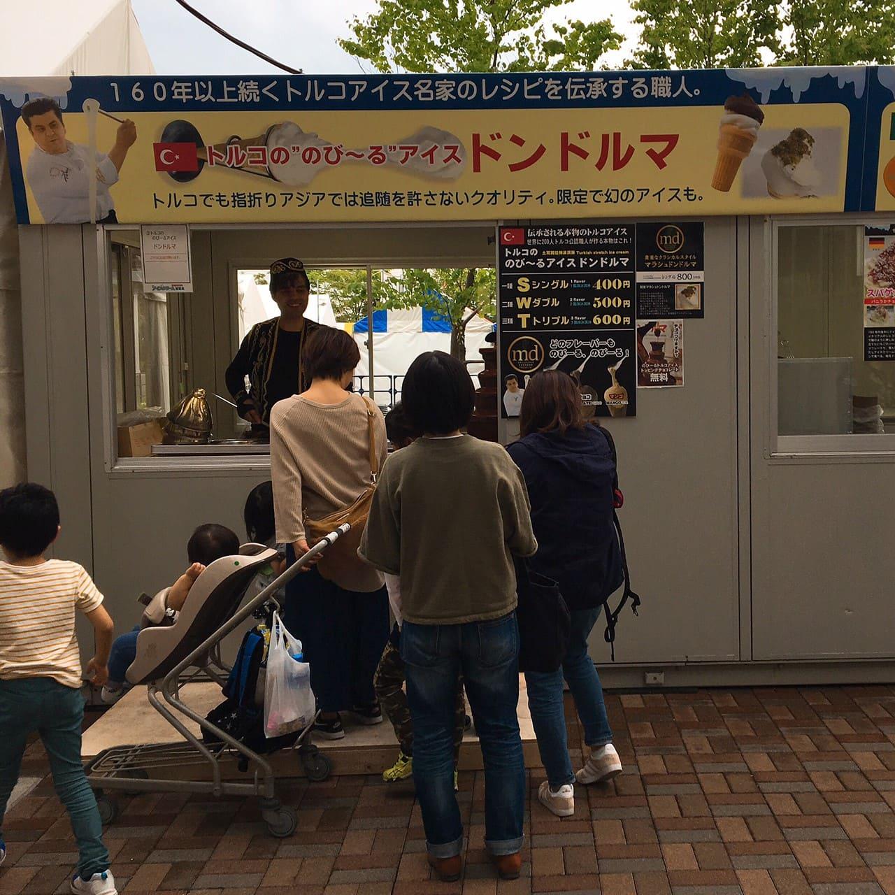 アイスクリーム博覧会ドンドルマ