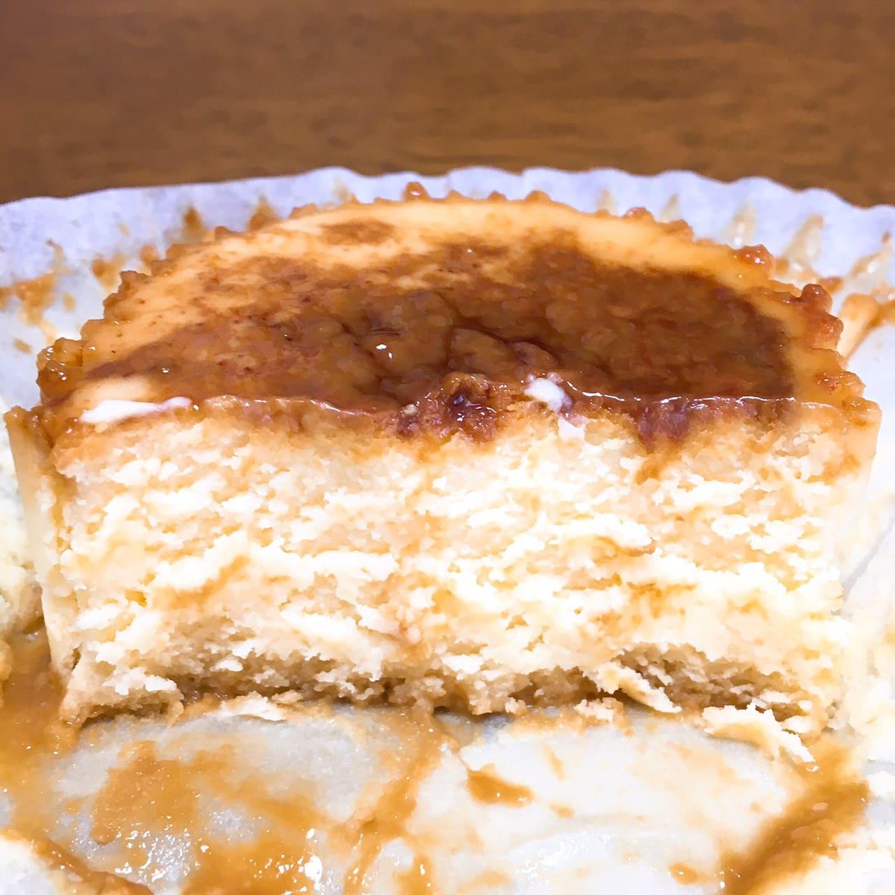 バスチー ‐バスク風チーズケーキ‐断面