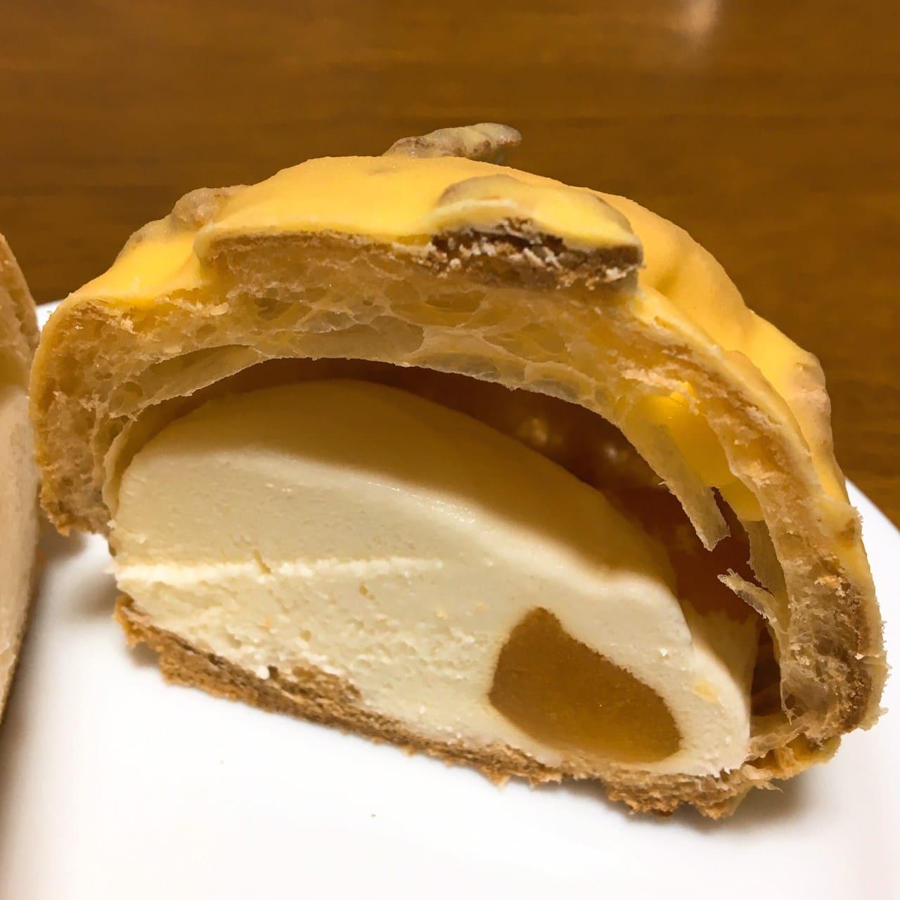 PABLO チーズシュー断面
