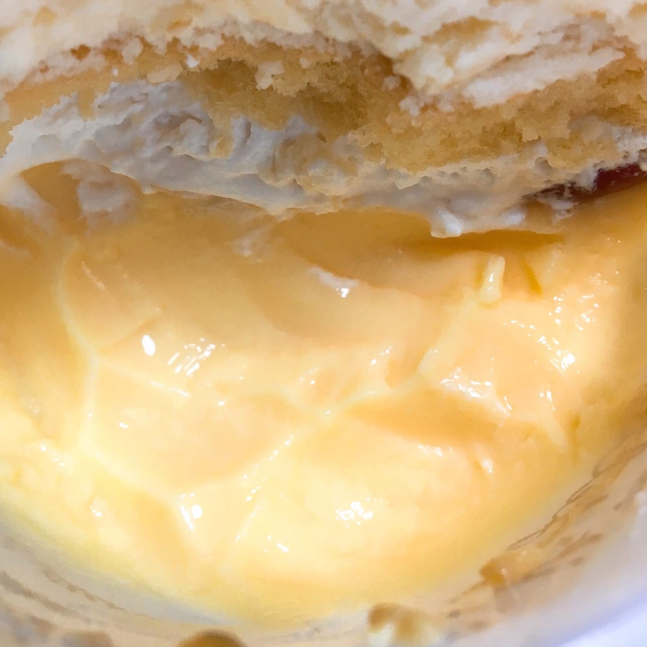チーズスフレプリンのプリン