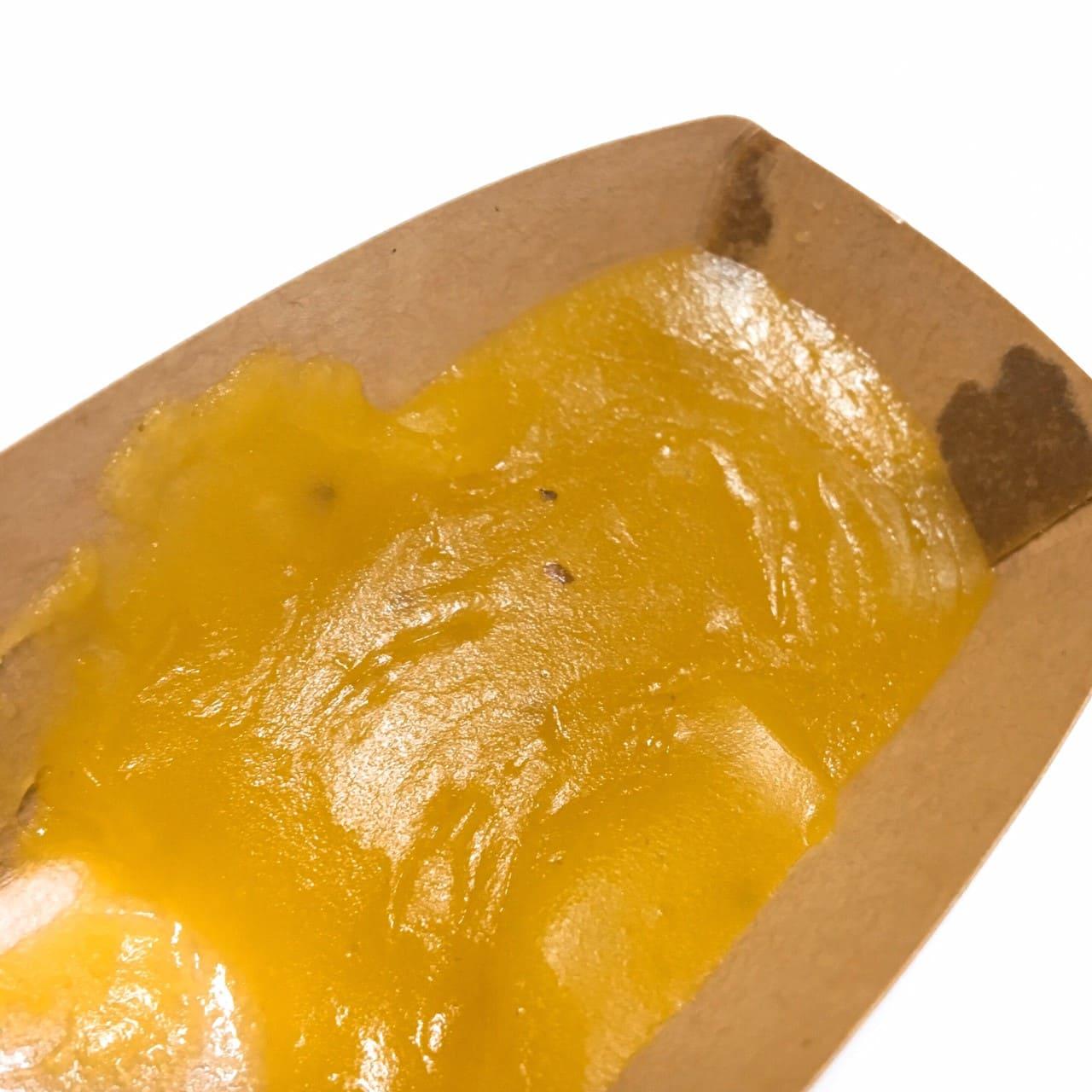 なると金時の洋風芋ようかんレンジ加熱後