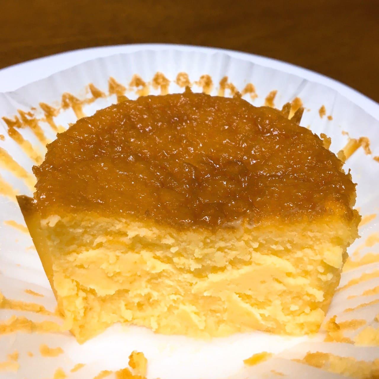 バスクチーズケーキ断面