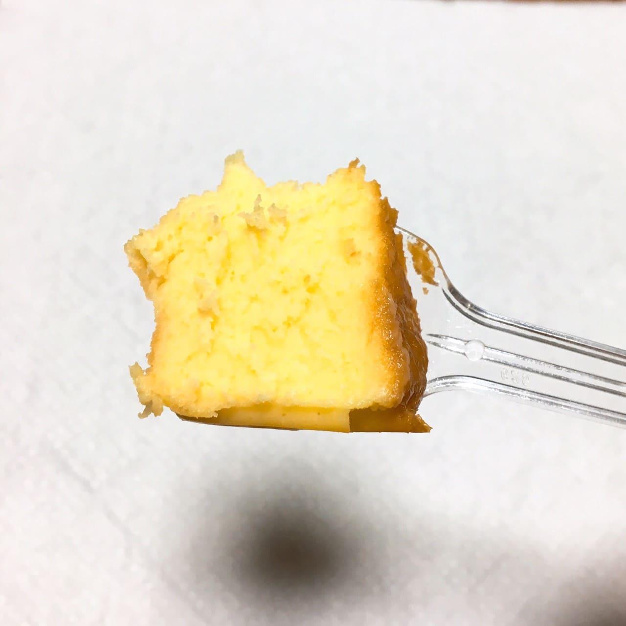 バスクチーズケーキひと口