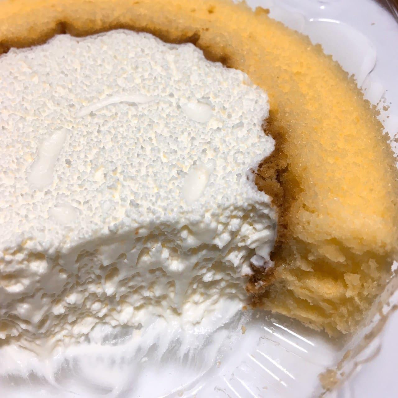 プレミアムロールケーキ断面