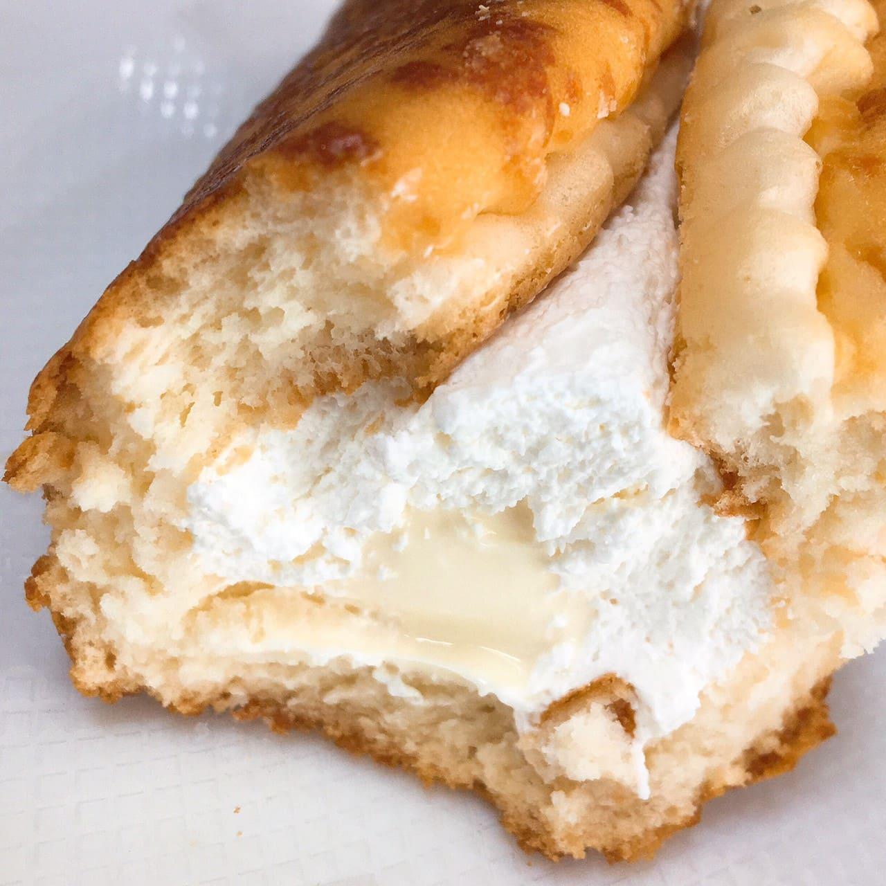 チーズ好きのためのチーズケーキ断面