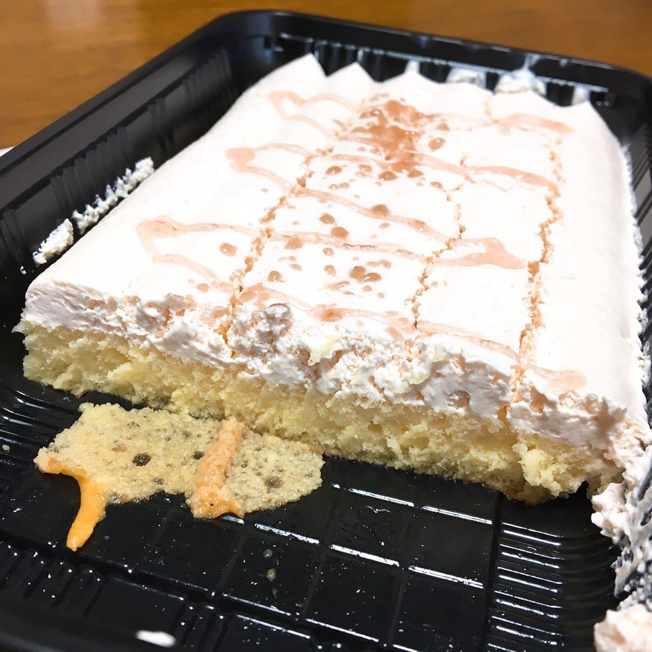 オランジェ ストロベリーケーキ断面