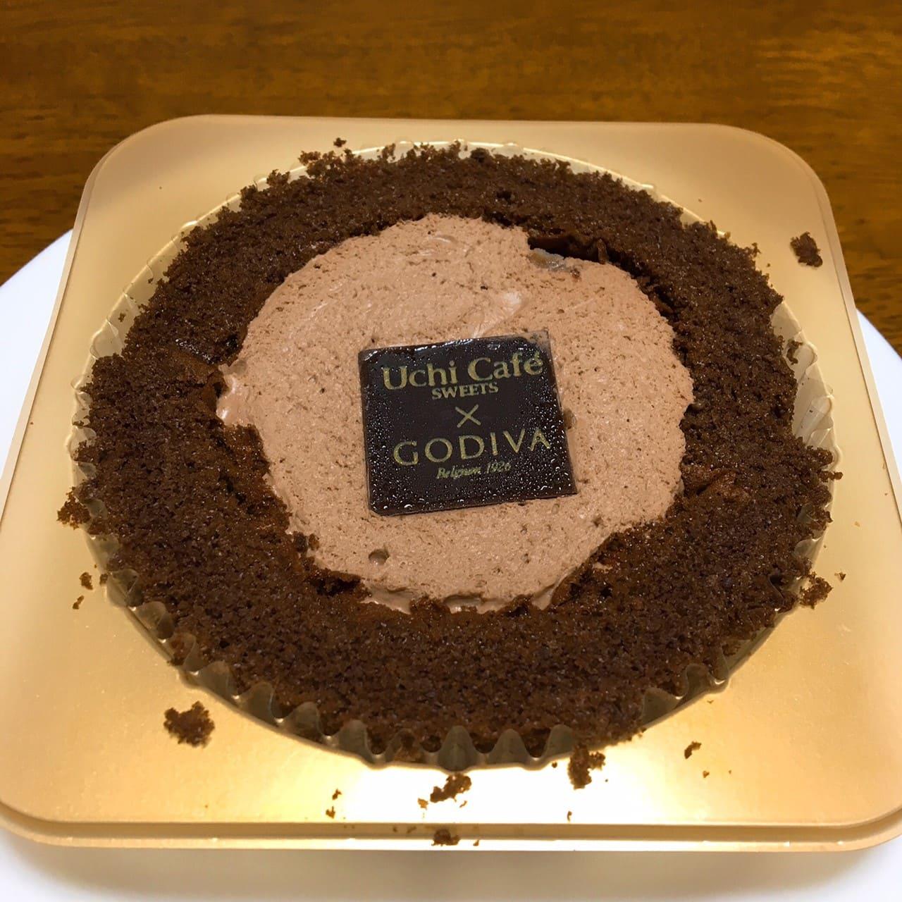 GODIVA ショコラロールケーキ