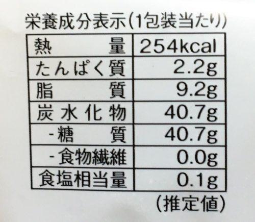 モチクルン -おもちでくるんプリンケーキ-栄養成分表示
