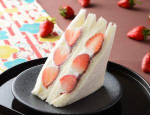 苺とあんこの和サンド