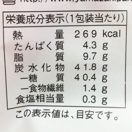 ドラえもんどらもっち まるごと苺(あんこ&ホイップ)栄養成分表示