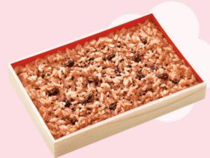 ひなまつり赤飯